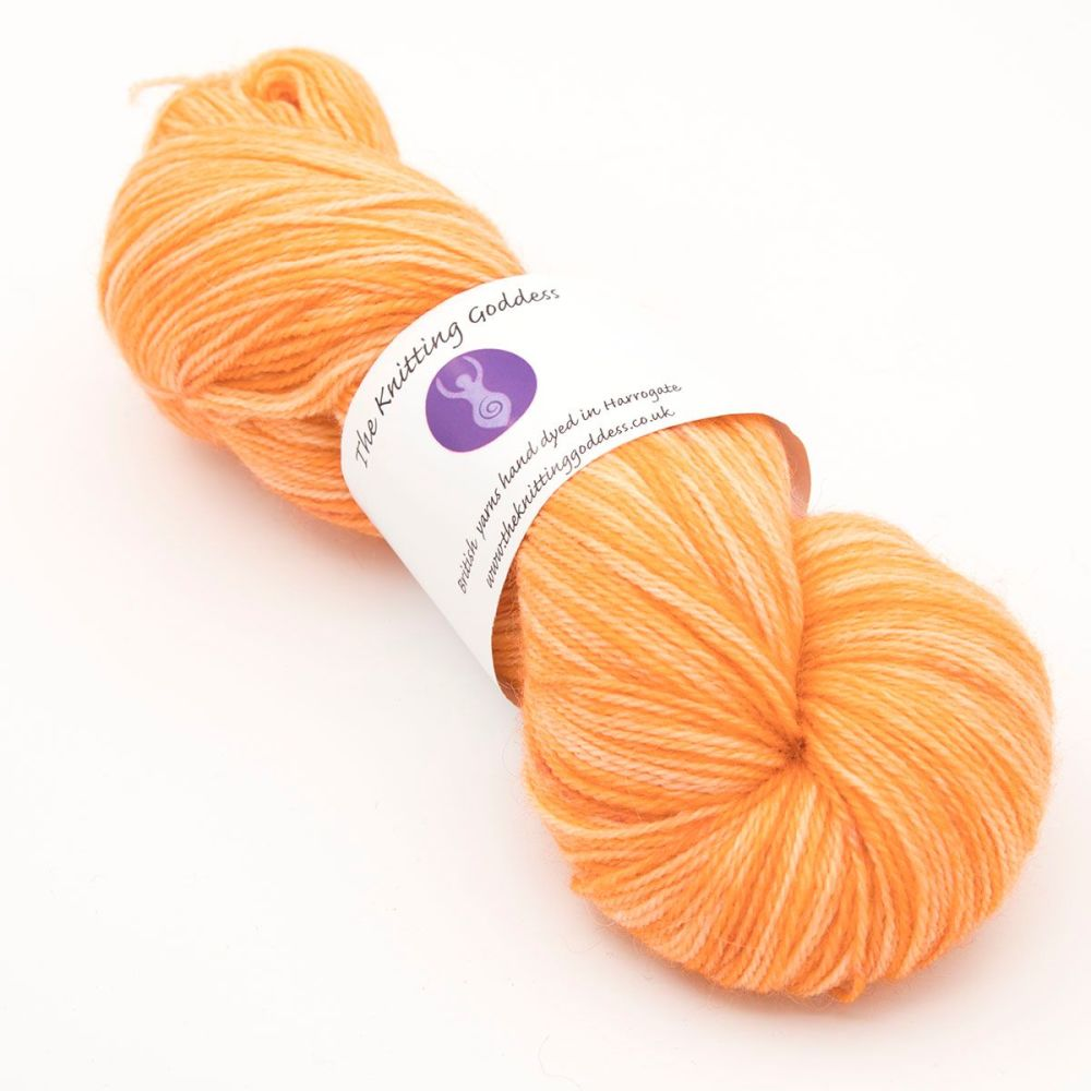 <!-- 001 -->4ply Britsock - Orange 18P