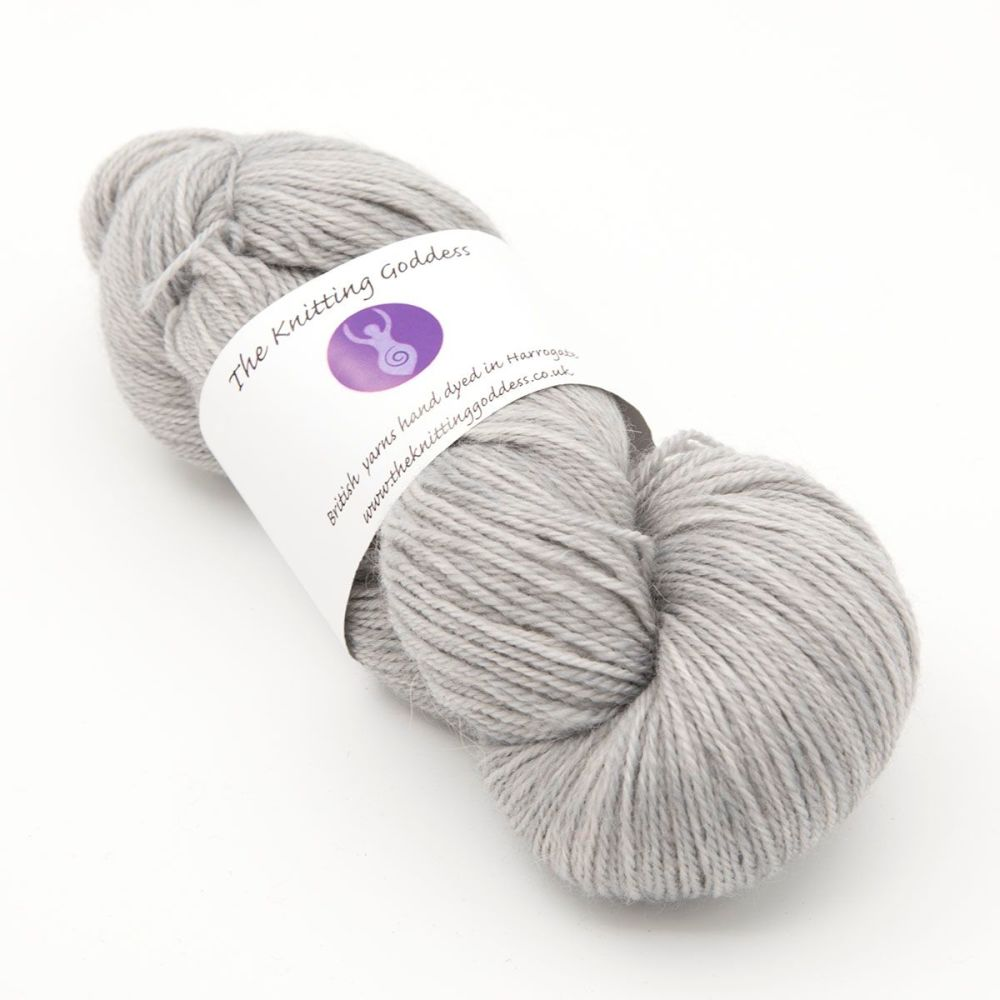 4ply Britsock - Silver
