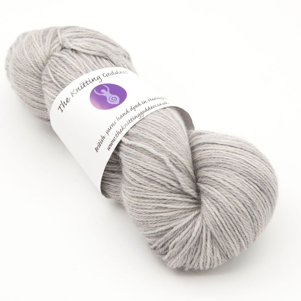4ply Britsock - Silver 18S