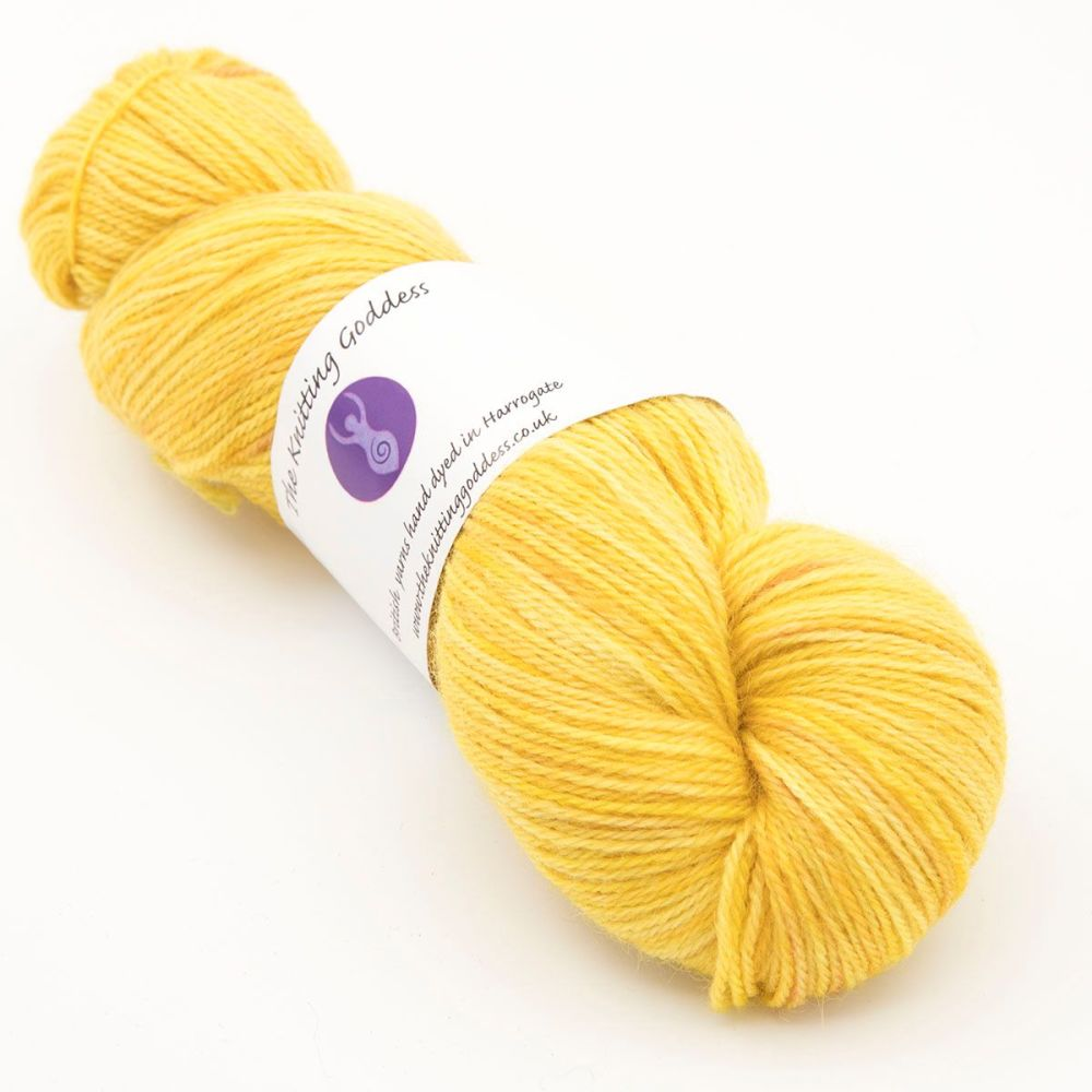 4ply Britsock - Yellow