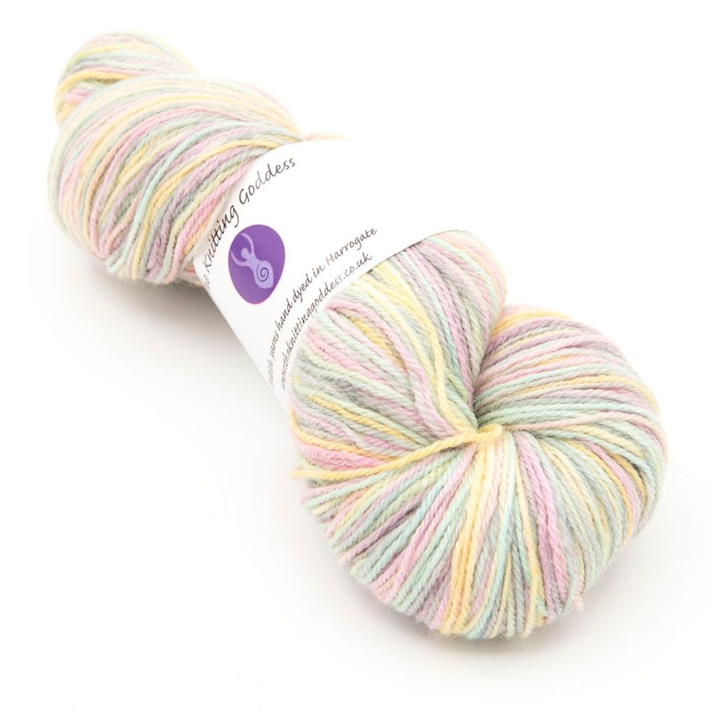 4ply Britsock - Oyster Shell 18O