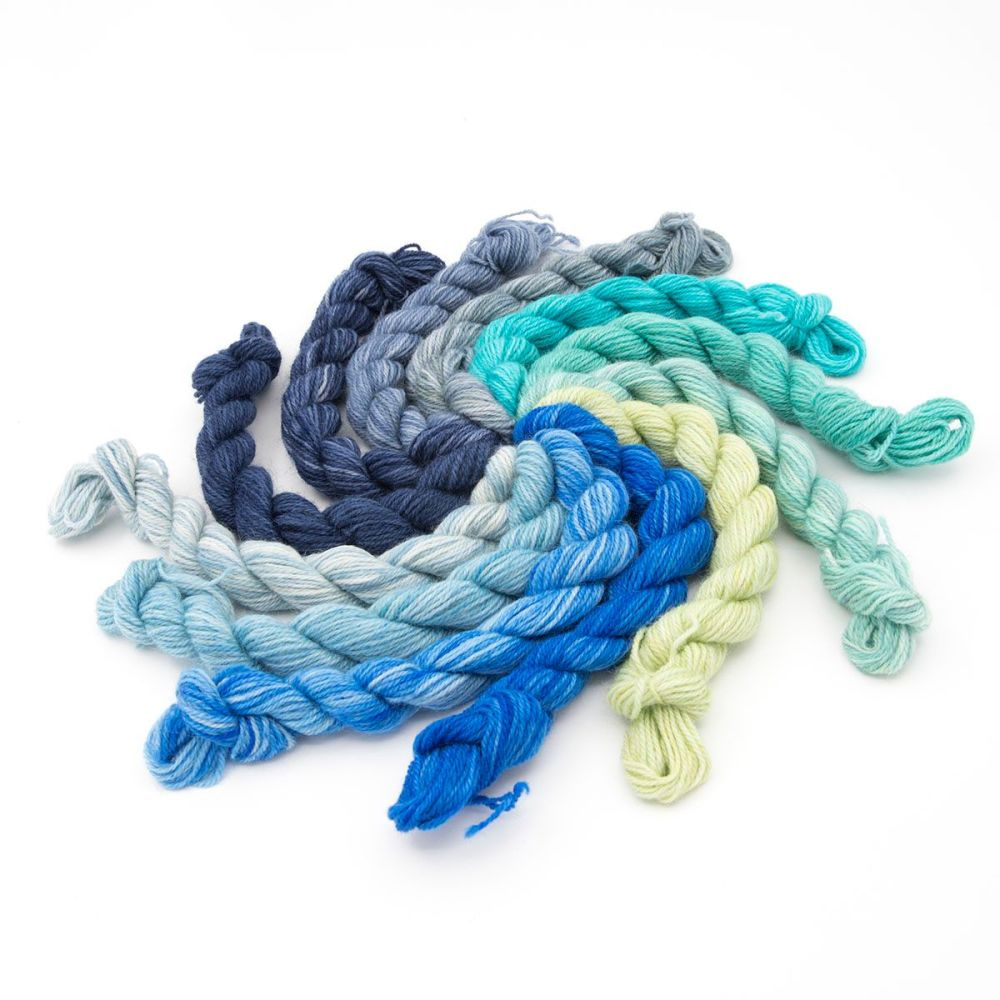 Britsock Colour Wheel -  The Blues 18N