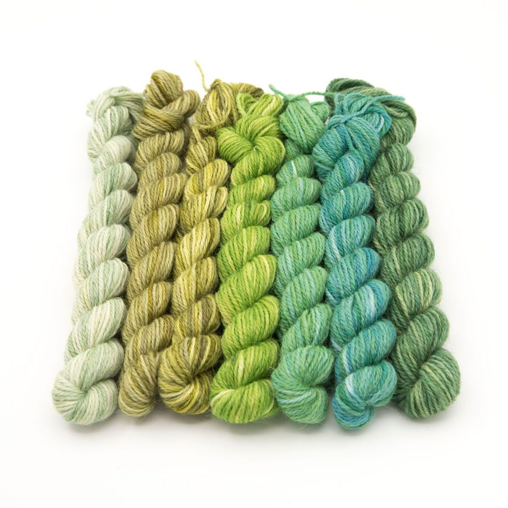 The Greens mini skeins
