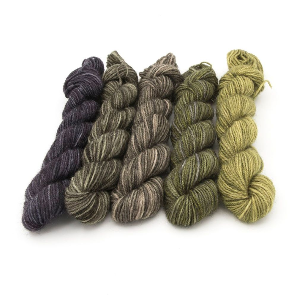 zBritsock  Mini Skeins - Grellows