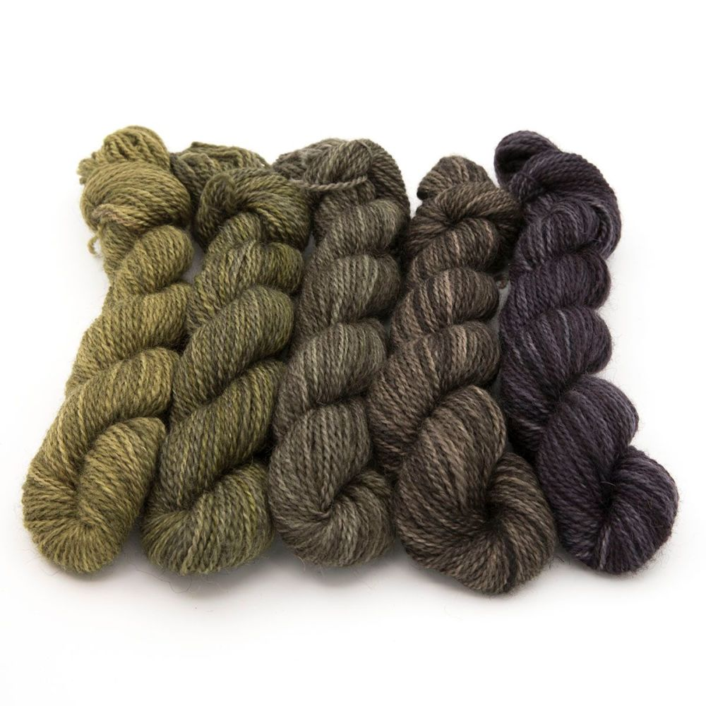 z4ply BFL Masham - Grellows mini skeins