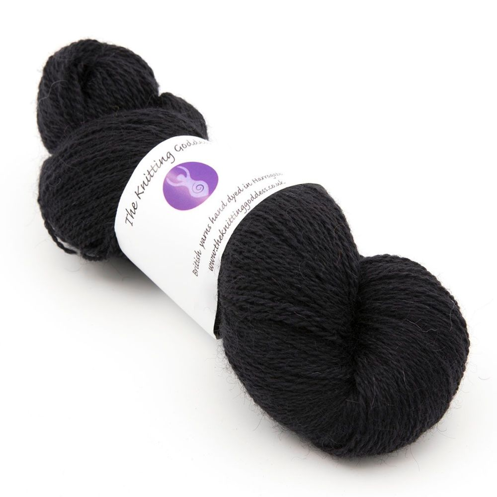 <!-- 002 -->One Farm Yarn - Black 20A