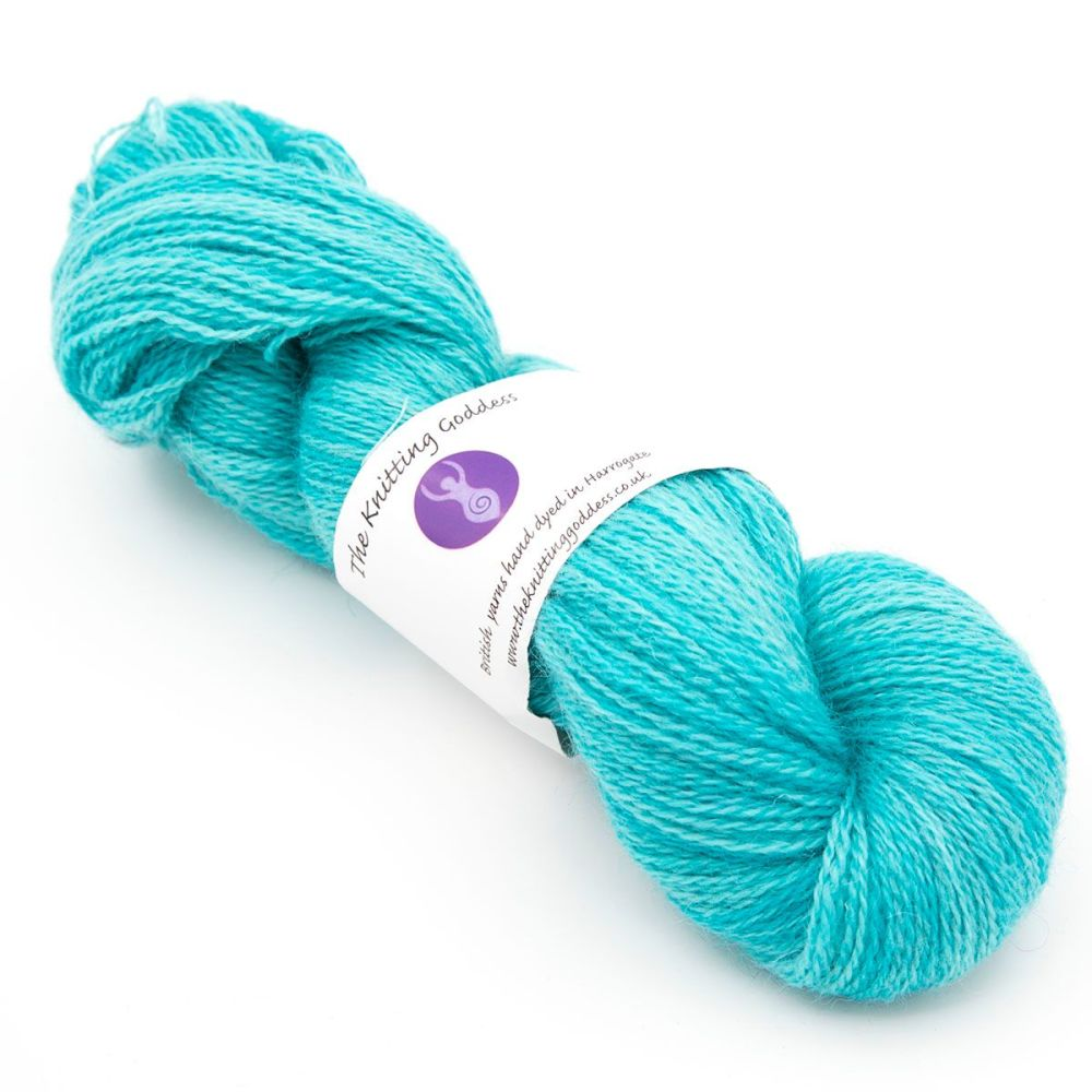 One Farm Yarn - Turquoise 18AA 4 left