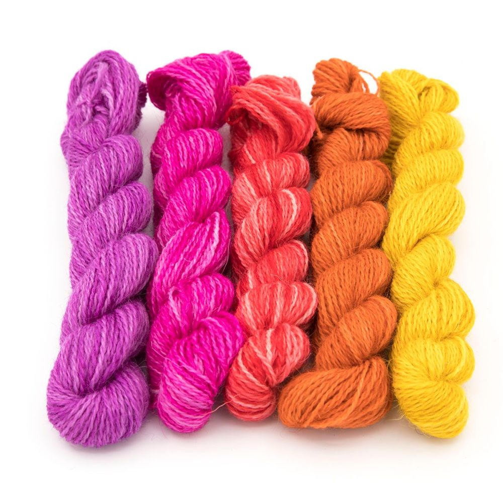 <!-- 004 -->One Farm Yarn - Joyful  mini skeins