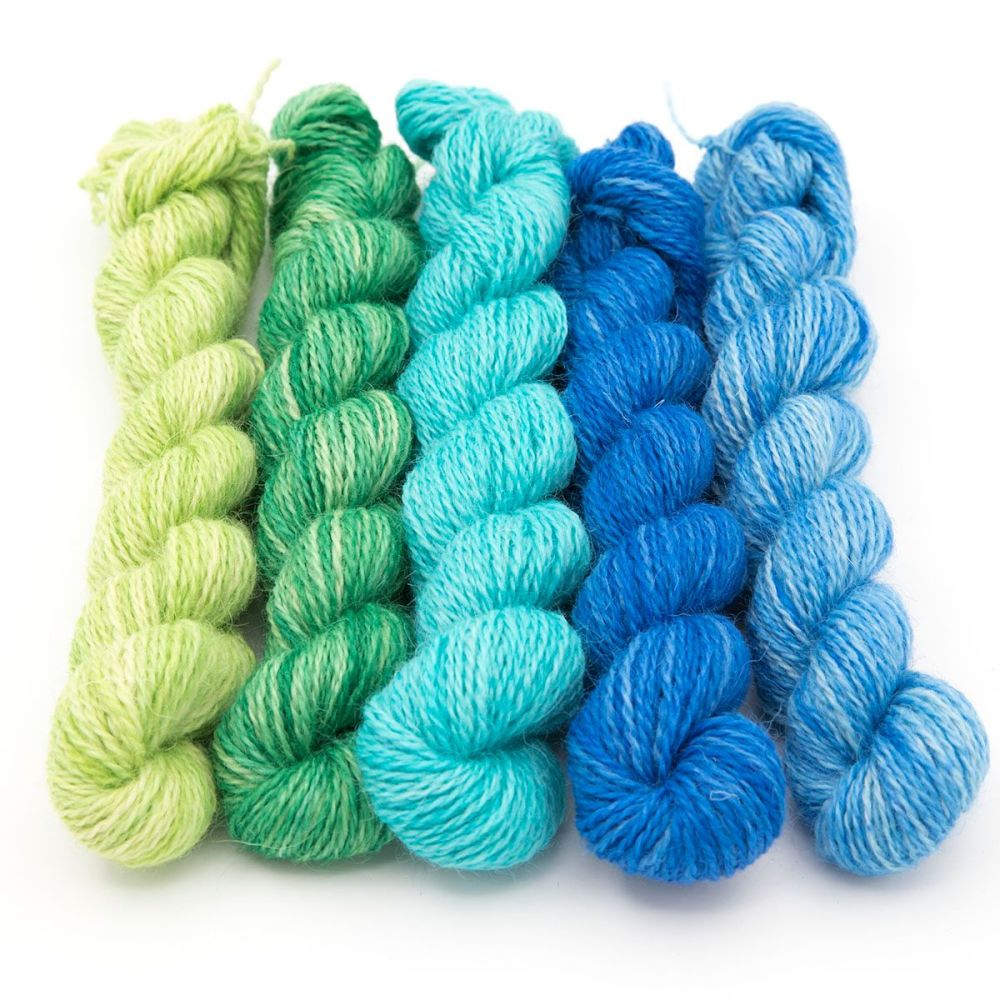 <!-- 004 -->One Farm Yarn - Planet Earth  mini skeins