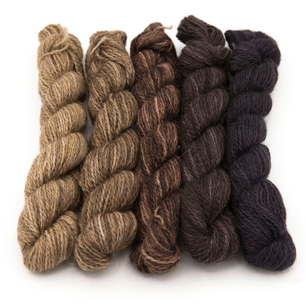 <!-- 004 -->One Farm Yarn - Stone Shades mini skeins