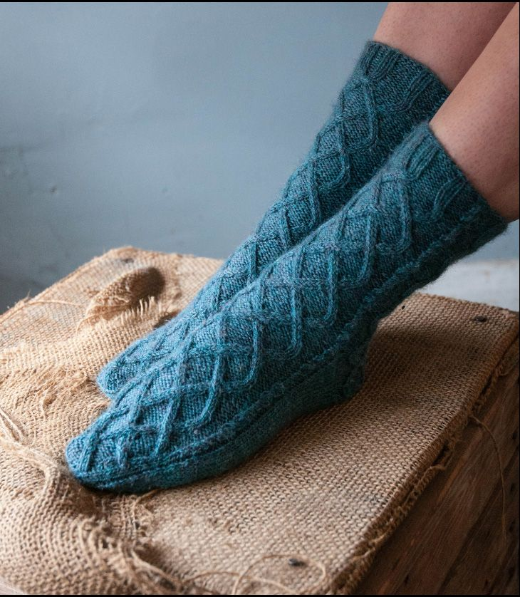 Kate Atherley Northern Lights Socks Image Copyright Gill Martin