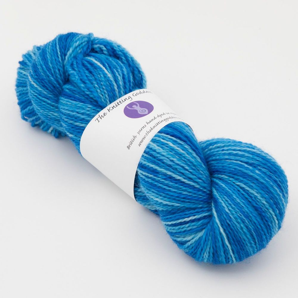 <!-- 011 --> 4ply BFL & Nylon - Bluebell