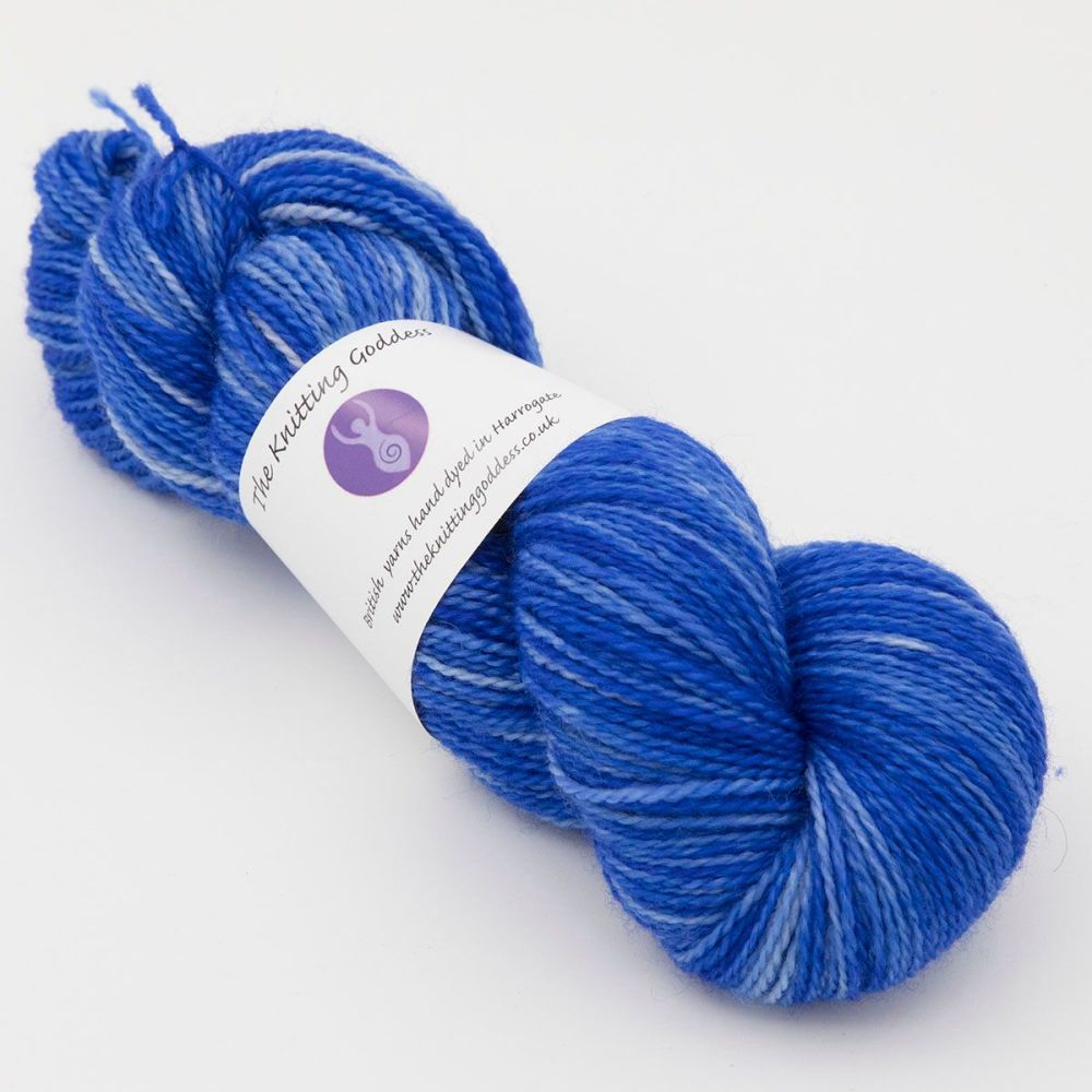 <!-- 013 --> 4ply BFL & Nylon - Hyacinth