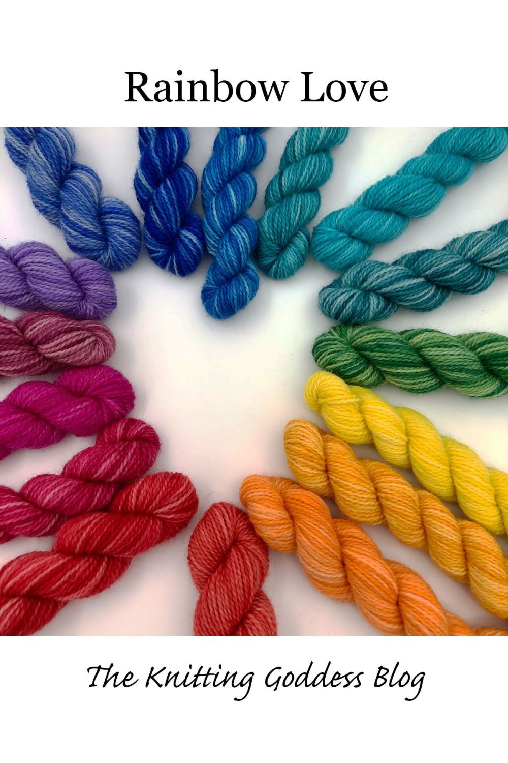 BFL-nylon-mini-skein-rainbow-heart-sock-yarn