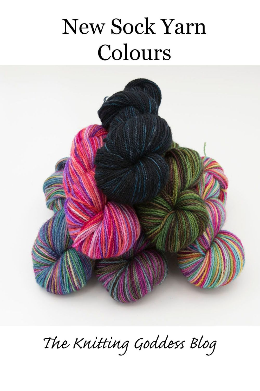 new sock yarn colours