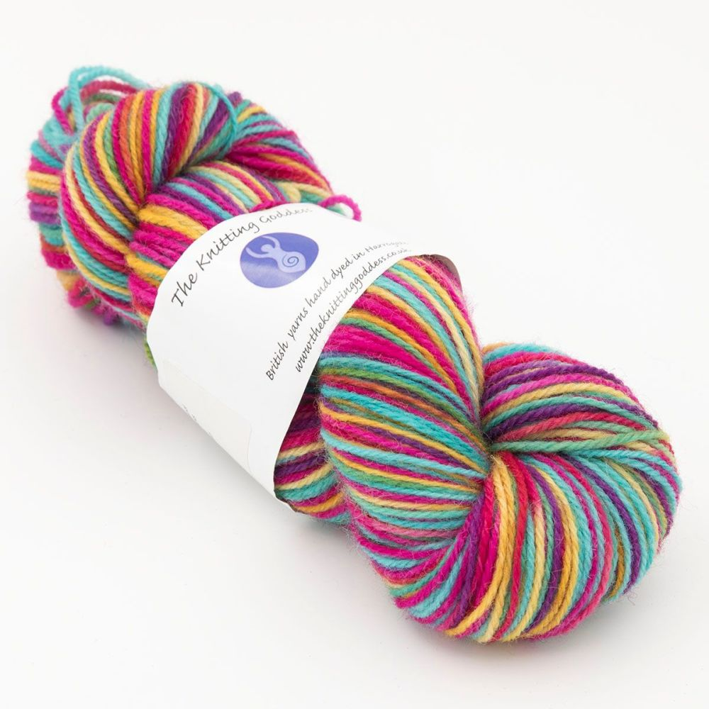 DK sock yarn - Ultimate Rainbow