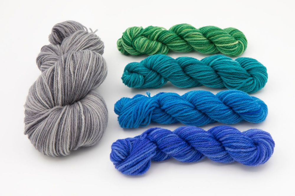 dk sock silver and cools