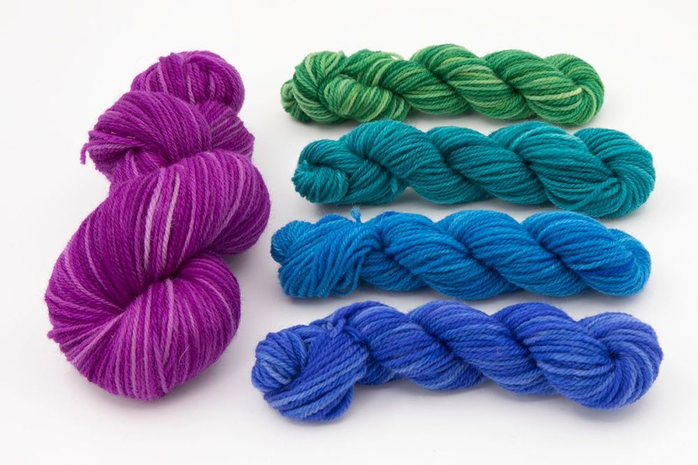 dk sock wisteria and cools