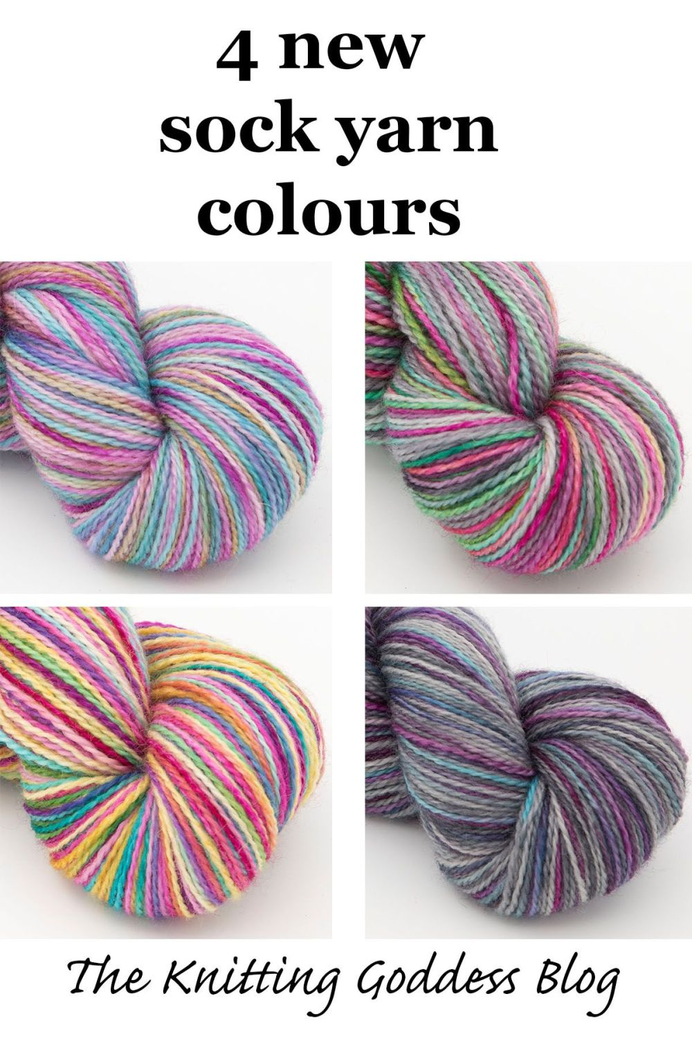 new sock yarn colours 5