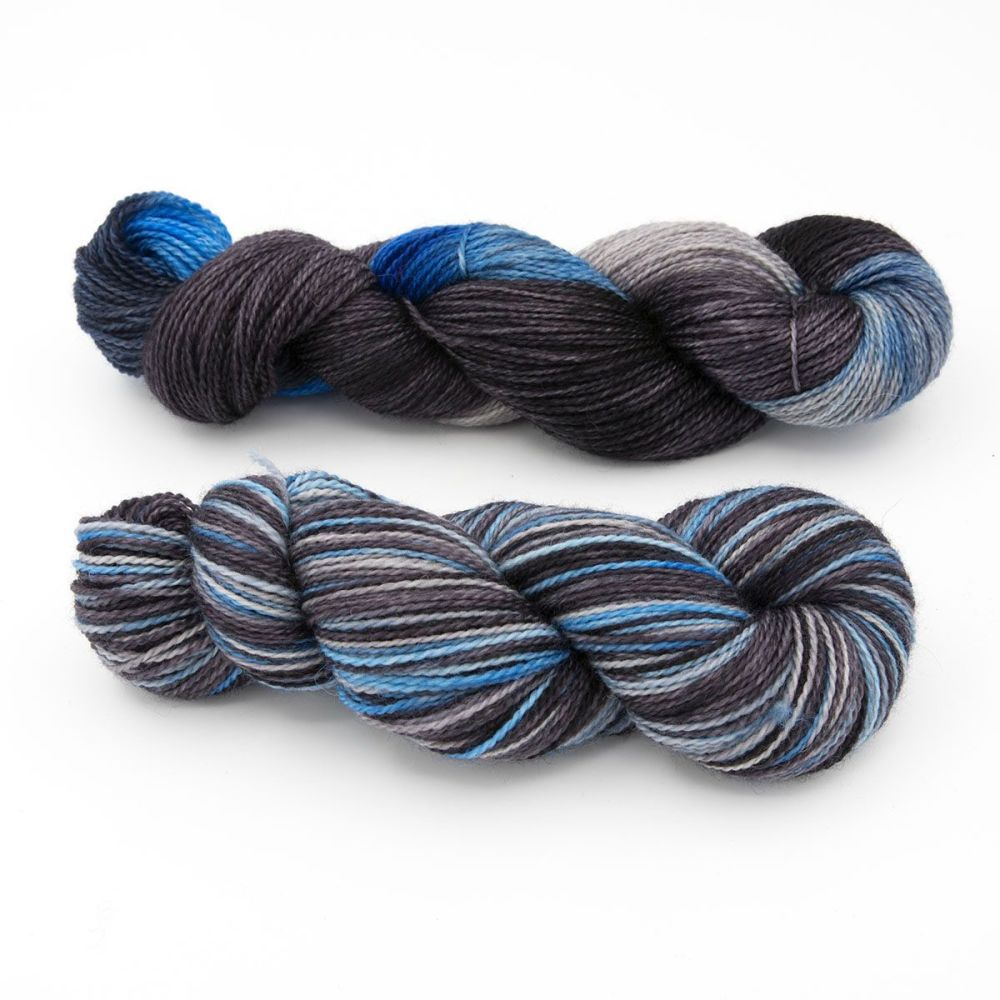 stormy sky duo3-blue-faced-leicester-nylon-sock-yarn-british-hand-dyed-the