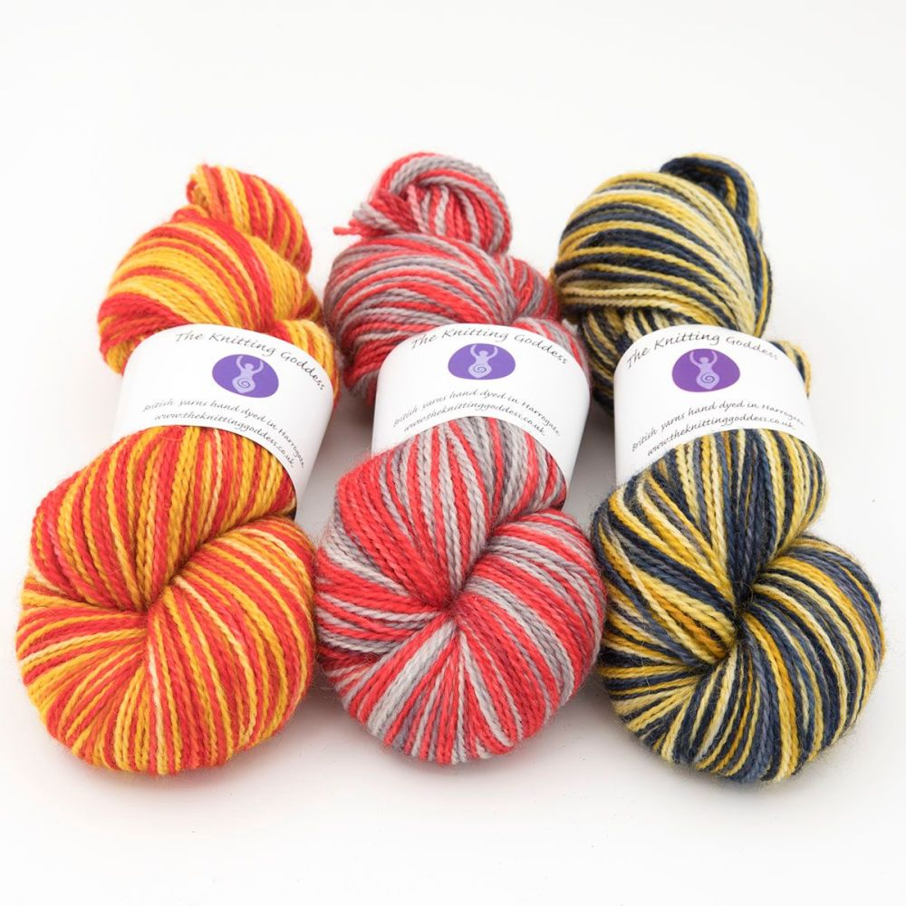 tunnocks trio 1-blue-faced-leicester-nylon-hard-wearing-sock-yarn-British-