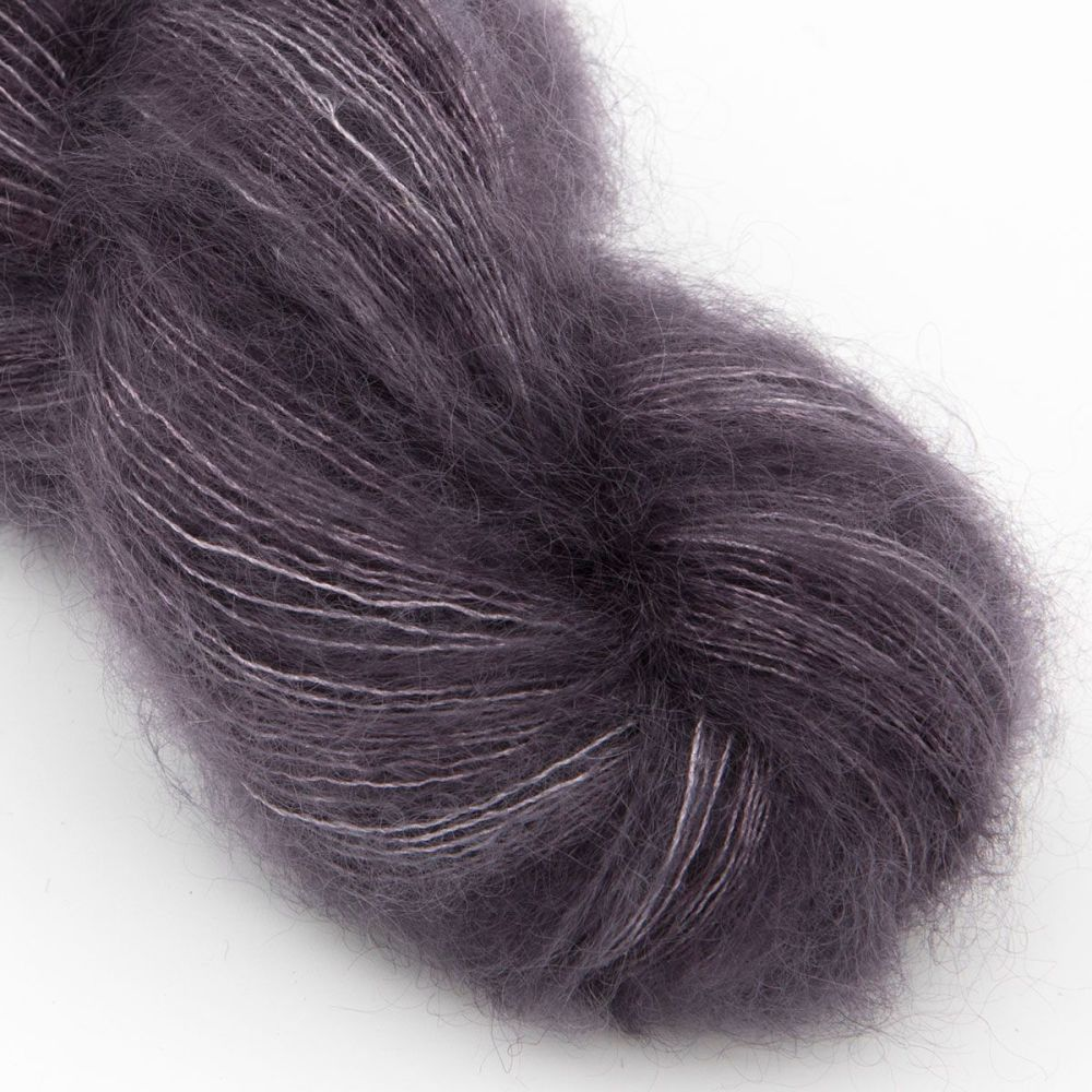 moonbroch charcoal kid mohair silk haze hand dyed yarn indie uk yorkshire