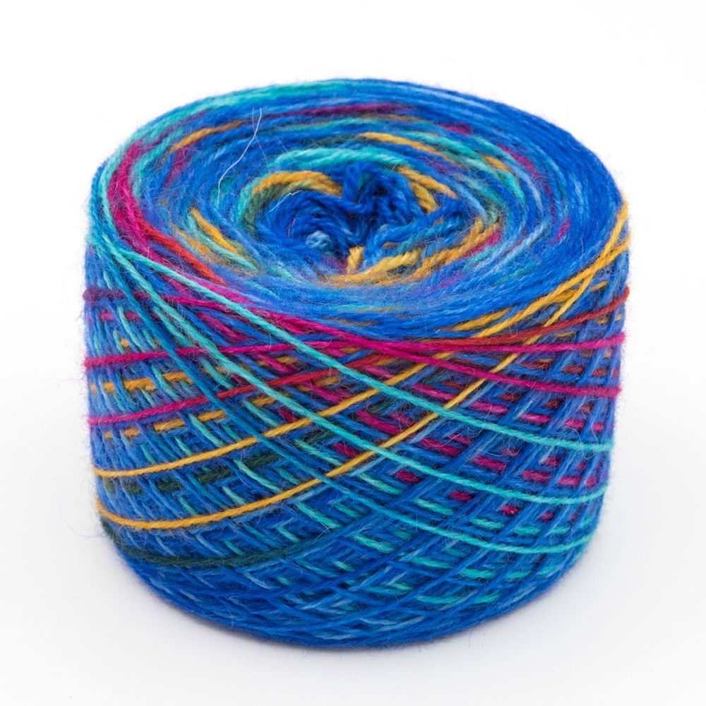 Blue PRIDE Self Striping Sock Yarn