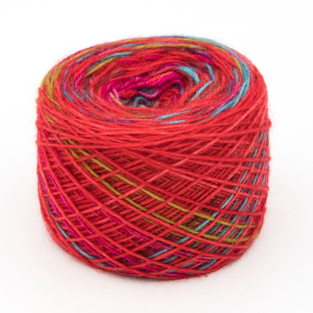 Red PRIDE Self Striping Sock Yarn