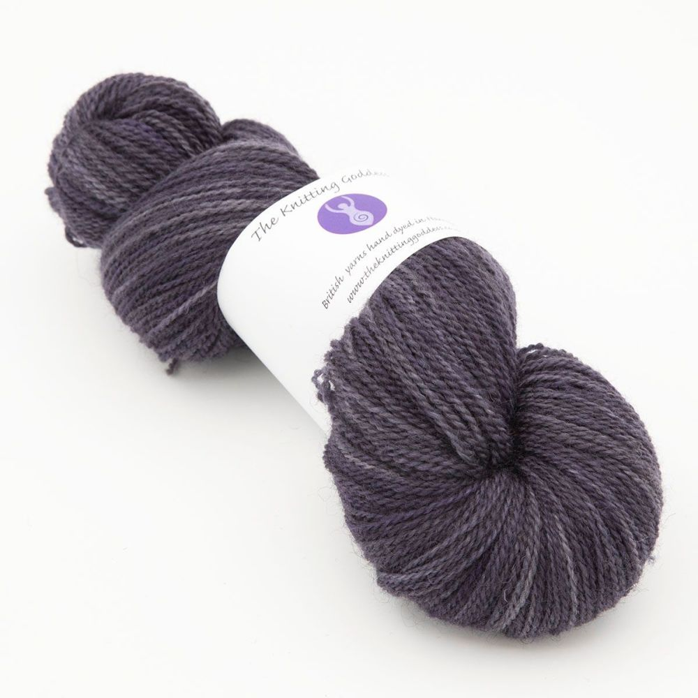 4ply BFL Masham - Shaded Violet