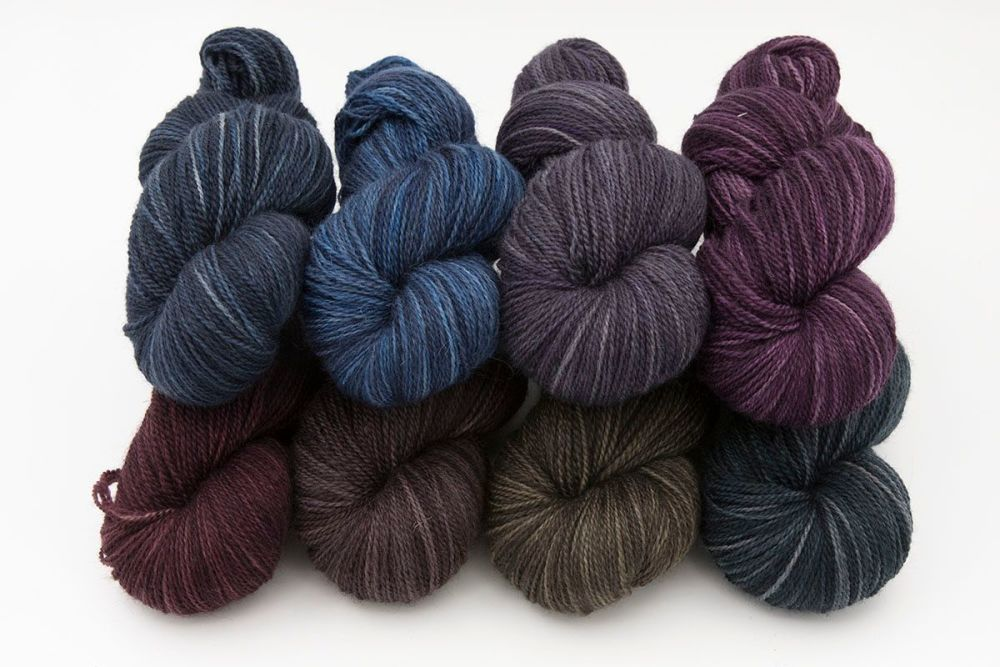 rainbow-blue-faced-leicester-masham-yarn-British-indie-dyed-the-knitting-go