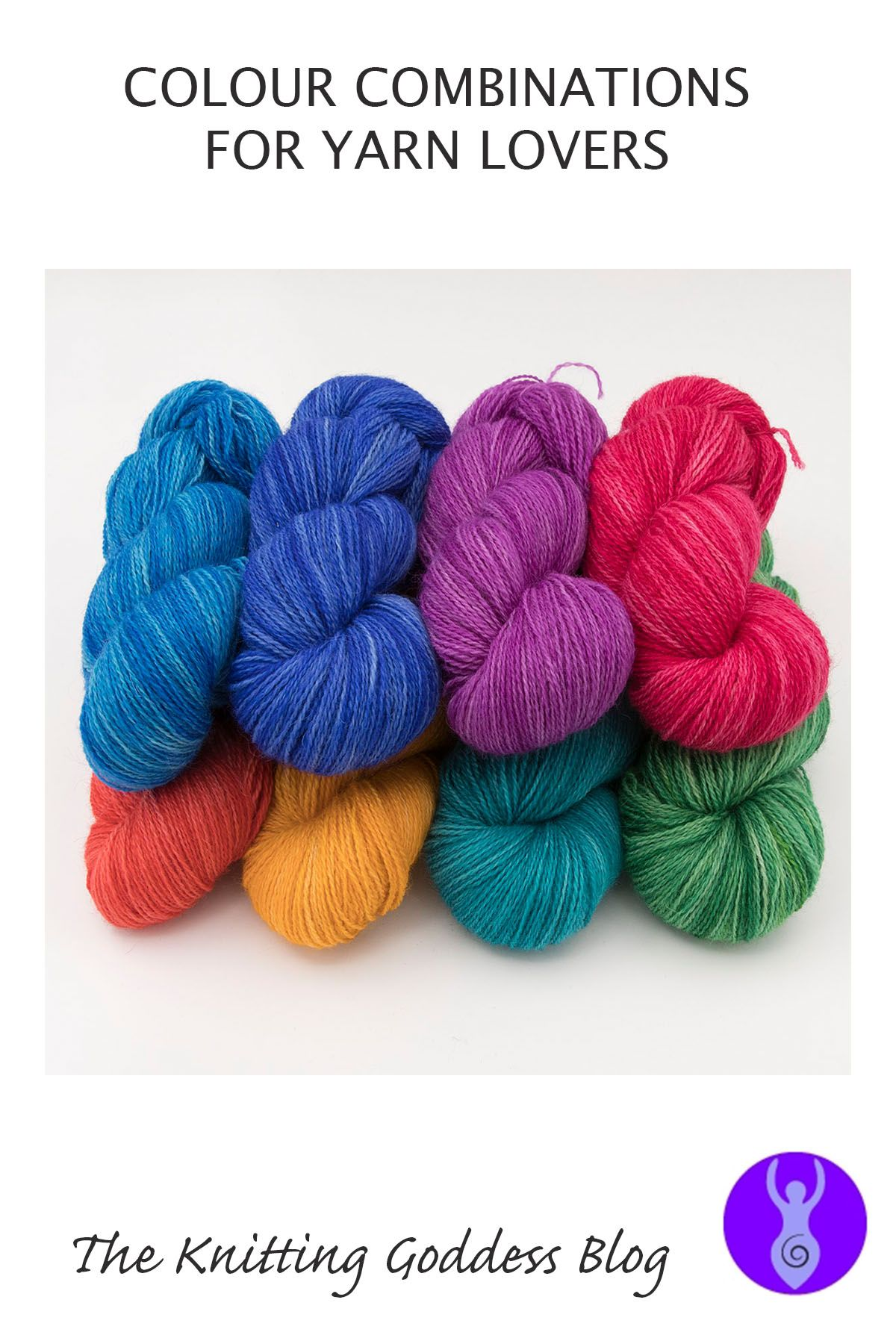 blog COLOUR COMBINATIONS one farm yarn 4ply hand dyed british wool the k