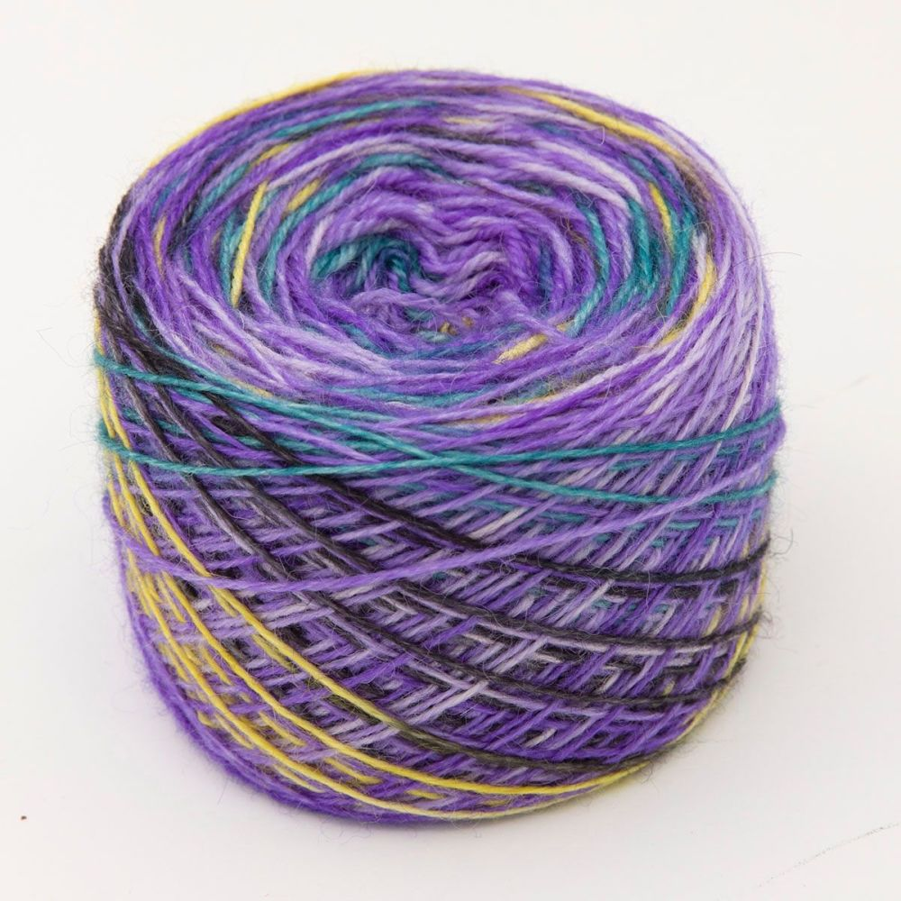 Iris Self Striping Sock Yarn