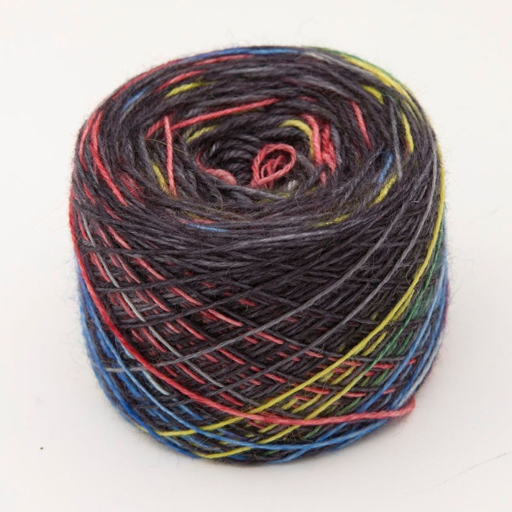 primaries on coal britsock blue faced leicester wensleydale alpaca nylon ha