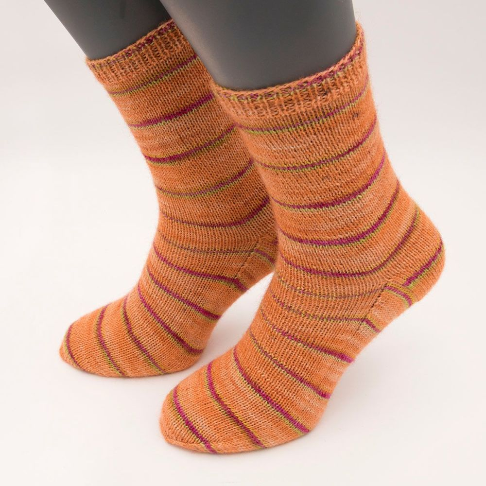 self stripe sock image 1