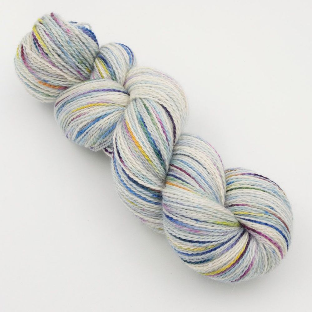 <!-- 002 -->4ply BFL, silk and alpaca - Experiment 6