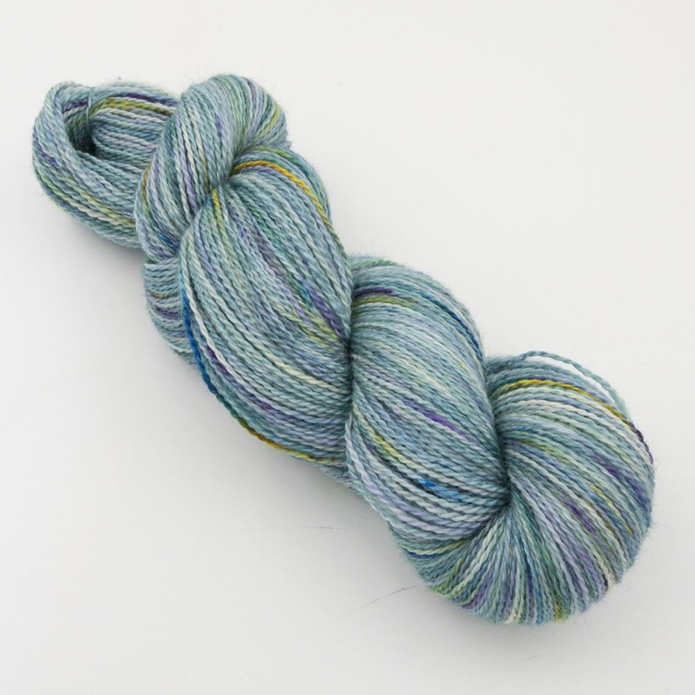 4ply BFL, silk and alpaca - Experiment 8