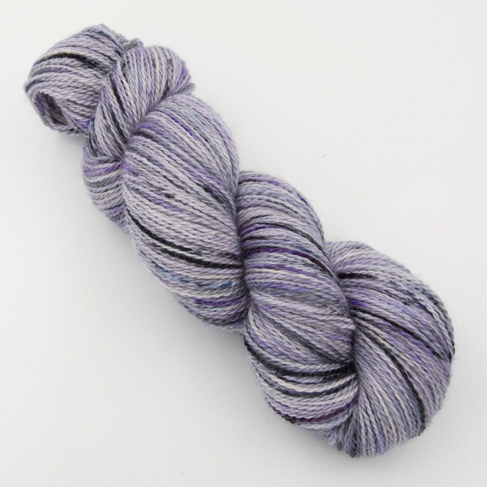 4ply BFL, silk and alpaca - Experiment 9