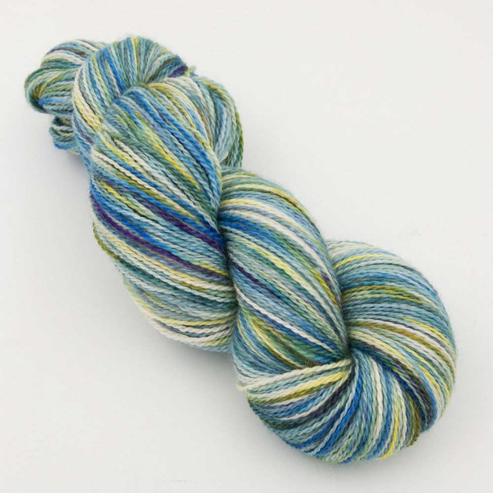 experiment 1 hand dyed british bfl silk alpaca luxury indie yarn