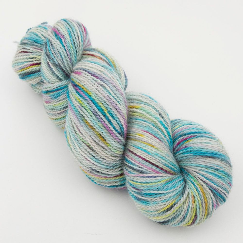 experiment 2 hand dyed british bfl silk alpaca luxury indie yarn