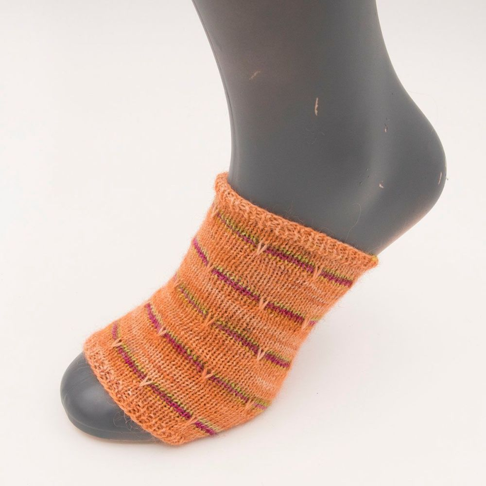self stripe sock image 10
