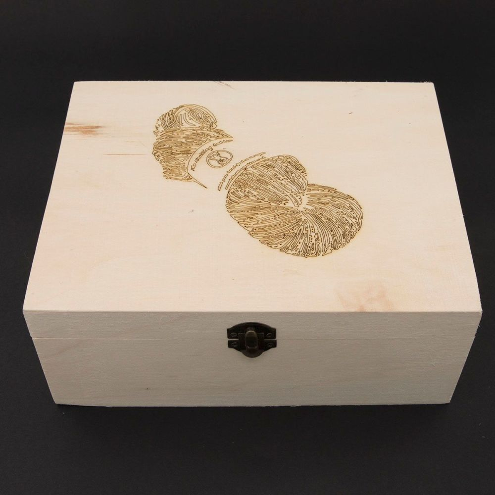 Wooden Box - Skein Design