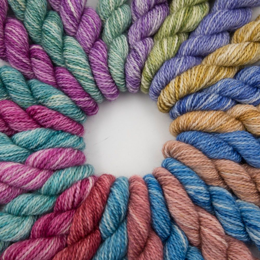 2020 bfl silk alpaca advent wheel 5