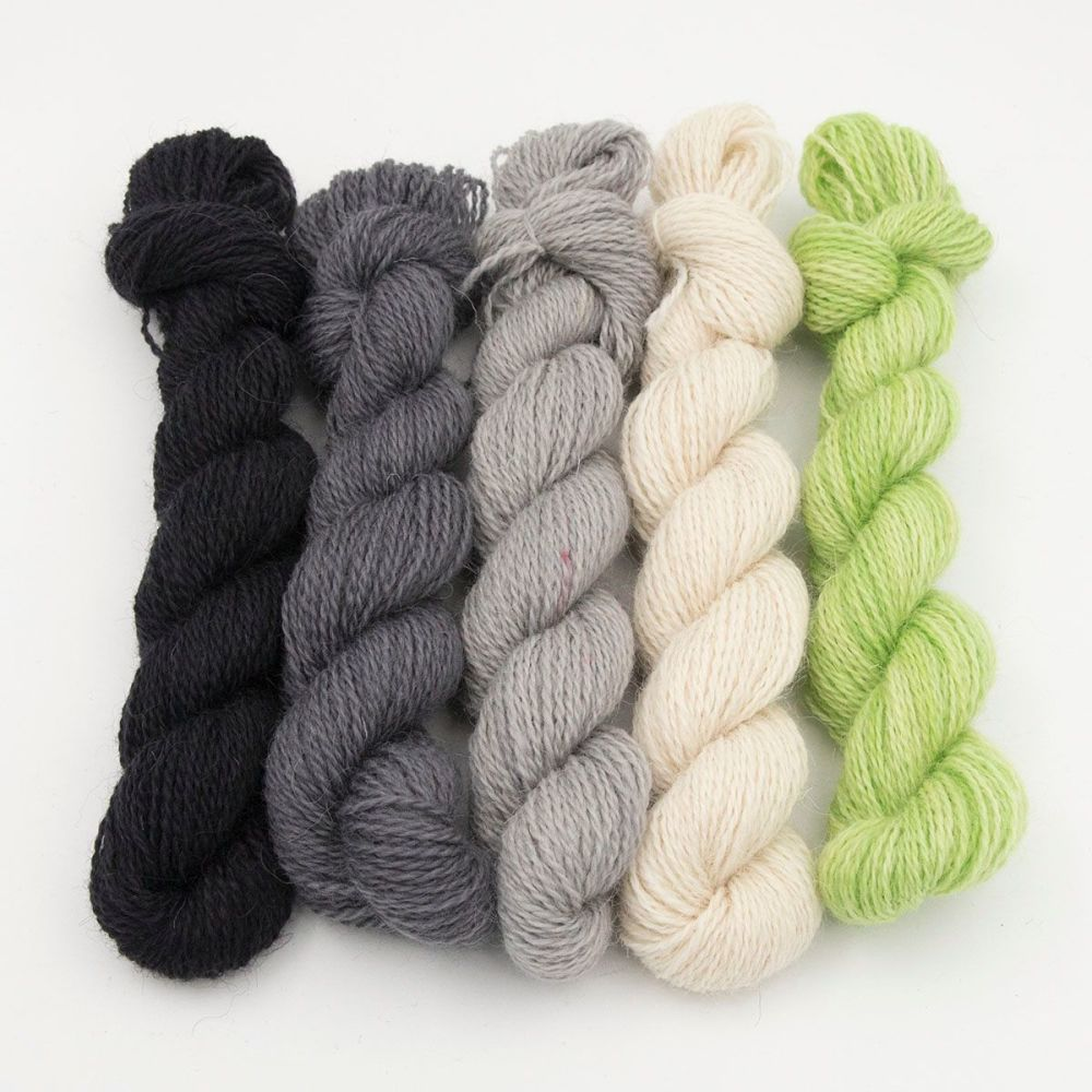 One Farm Yarn - Lime Colour Pop  mini skeins