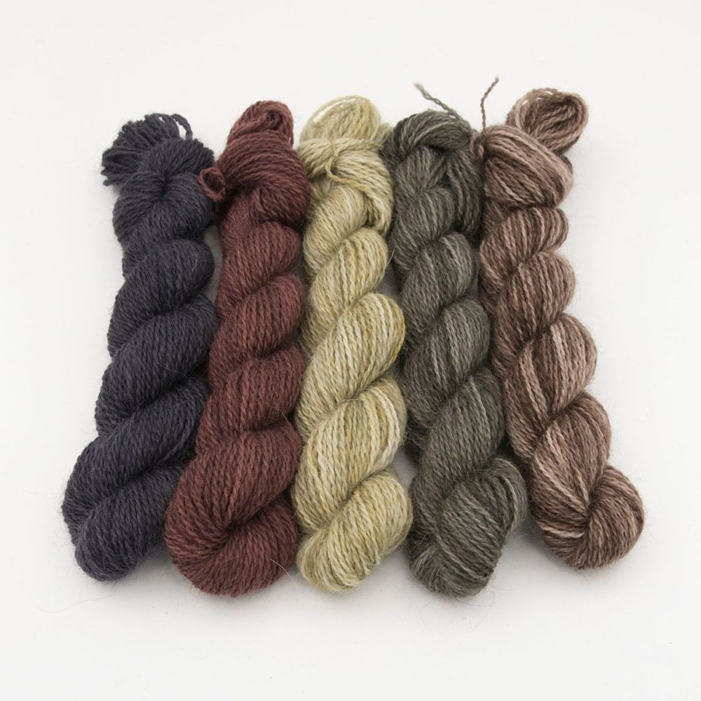 One Farm Yarn - Natural Beauty mini skeins