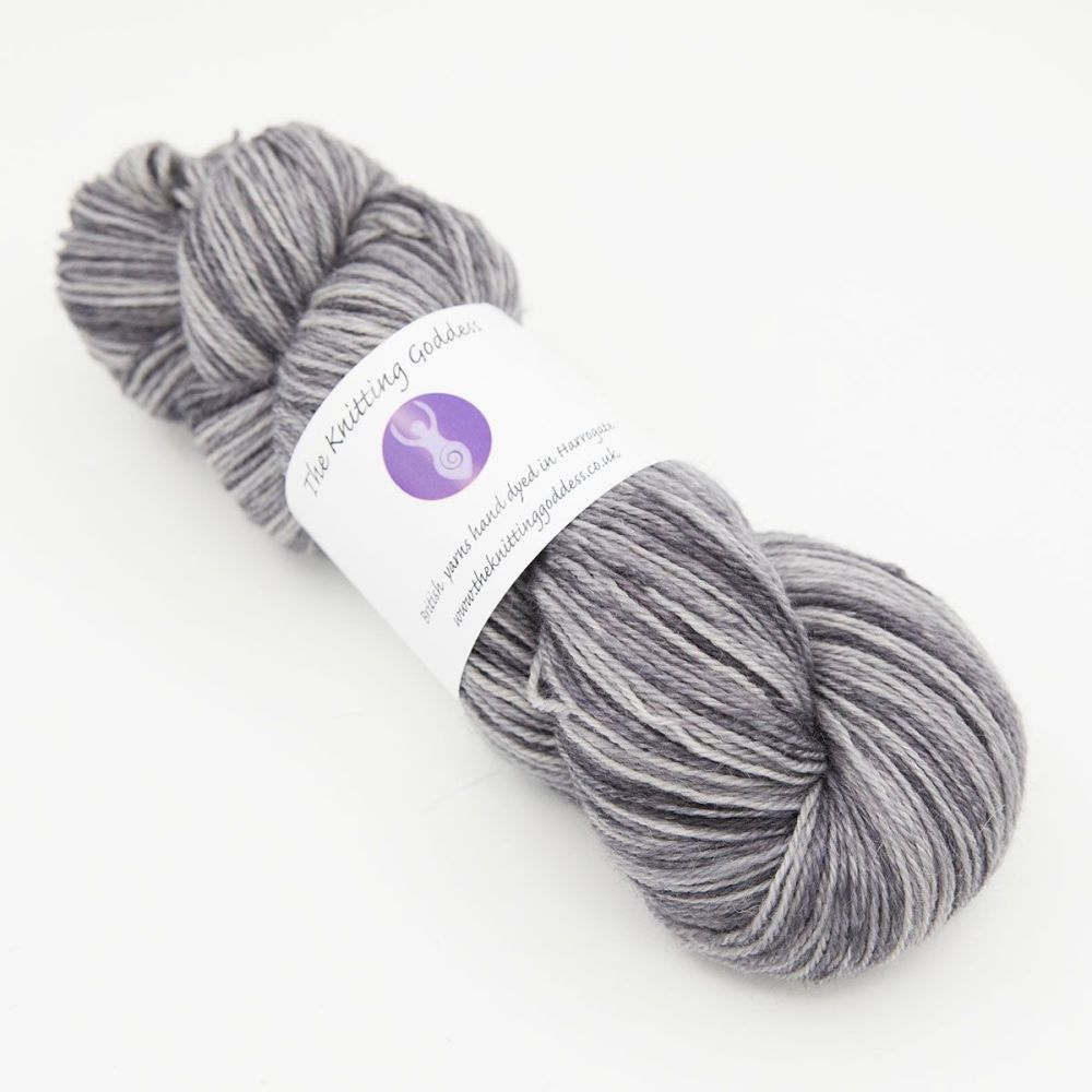 <!-- 001 -->4ply Britsock - Silver Darlings