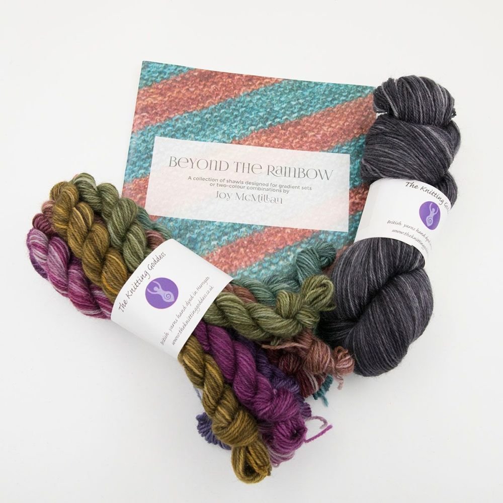 Beyond The Rainbow Pattern and Yarn Kit - Shades and Shale