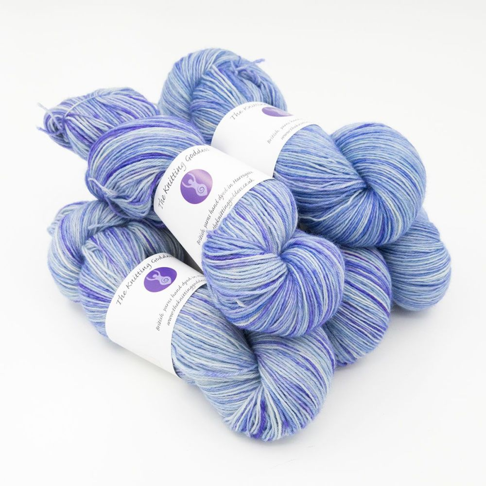 4ply BFL wool - Hyacinth