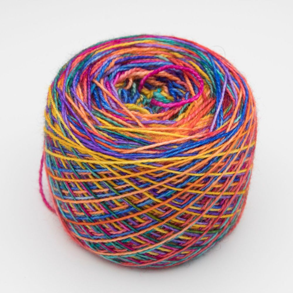 Self striping Sock Yarn - Rainbow