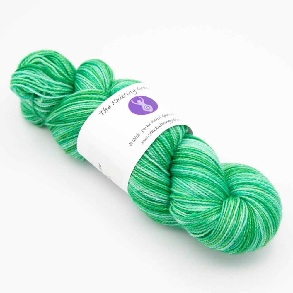 4ply BFL & Nylon - Emerald