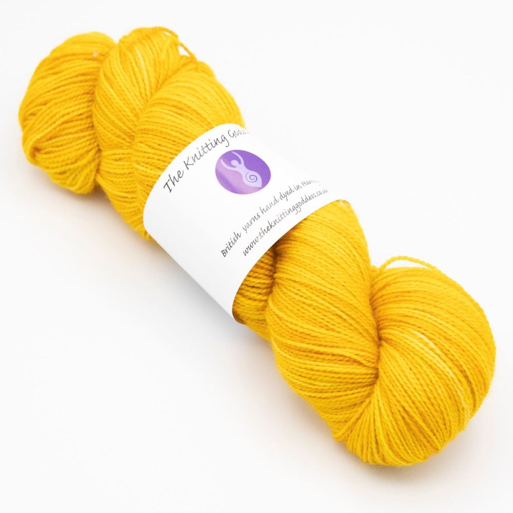 4ply BFL & Nylon - Gold